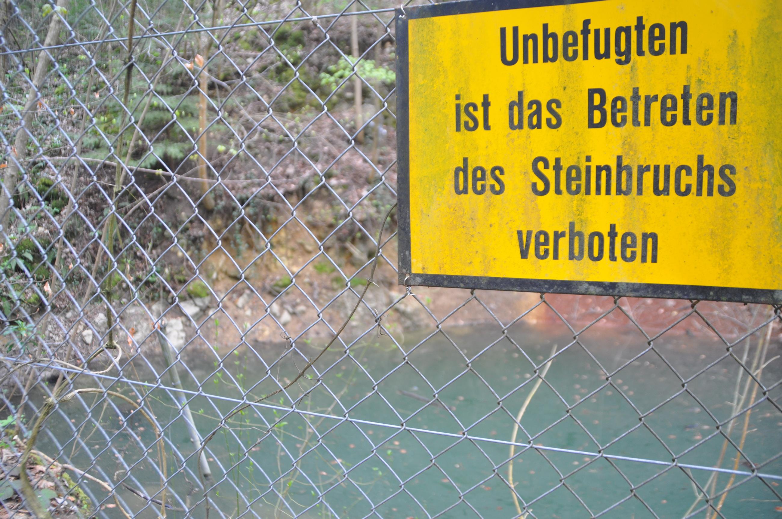 Steinbruch